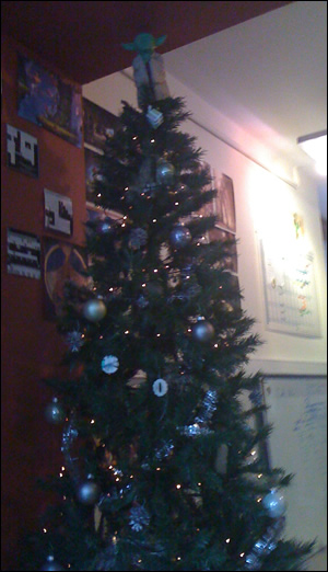 Yoda Christmas Tree