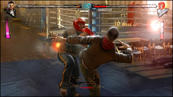 Fighters Uncaged Kinect Screenshot