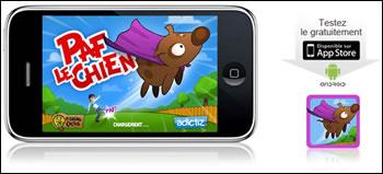 Paf le Chien sur iPhone et Android