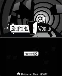 Shifting World Screenshot 3DS dual screen