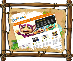 Creatures 4 - Official Website Homepage